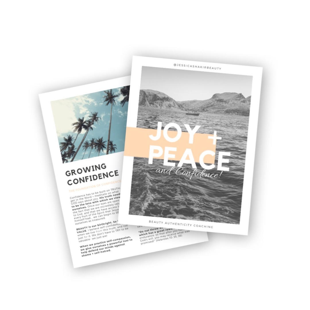 Wildly Embrace Joy, Peace, and Confidence… - Download your FREE 10-Page Guide to Help You Grow in these Glorious Gifts!