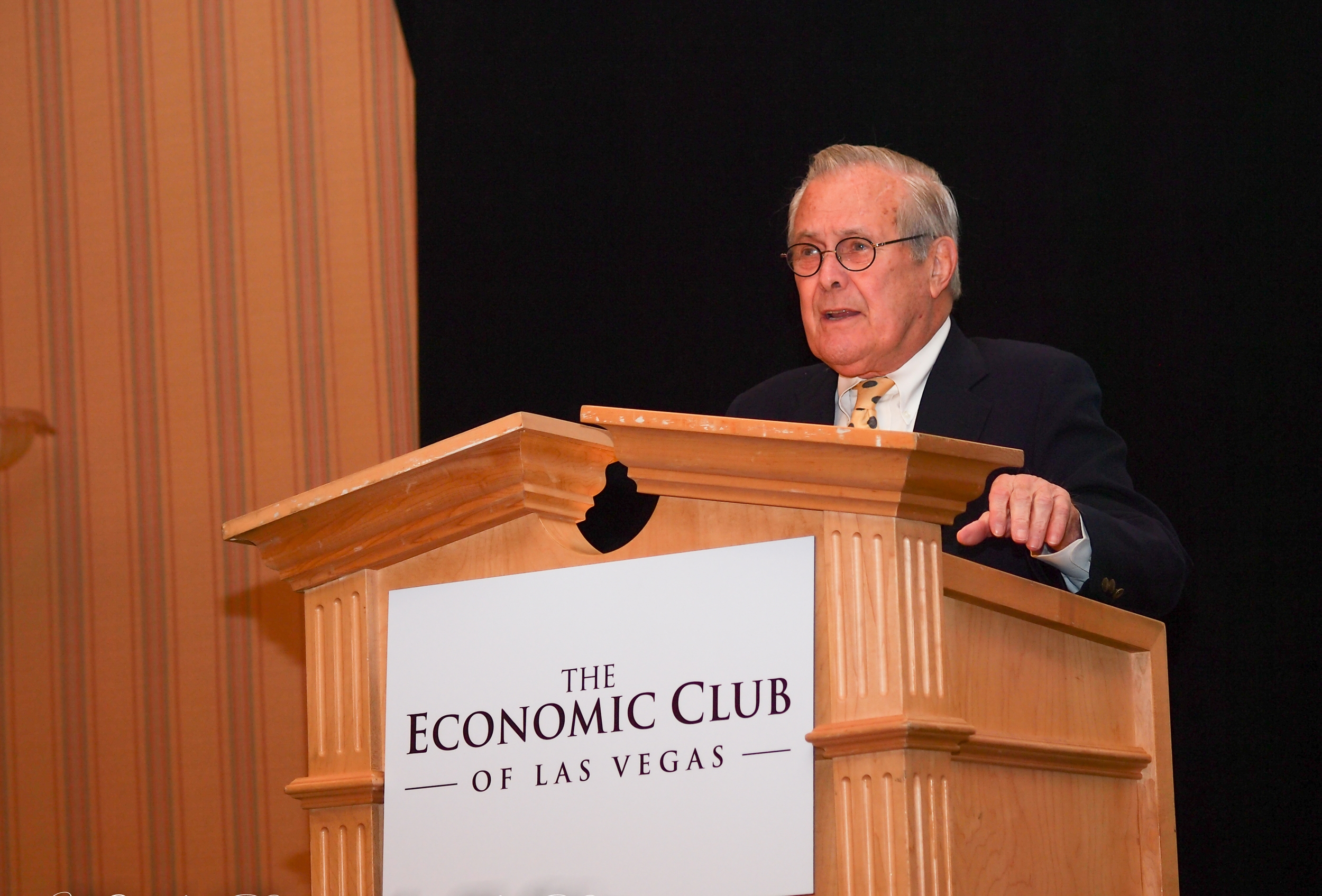 Donald Rumsfeld - Former U.S. Secretary of Defense
