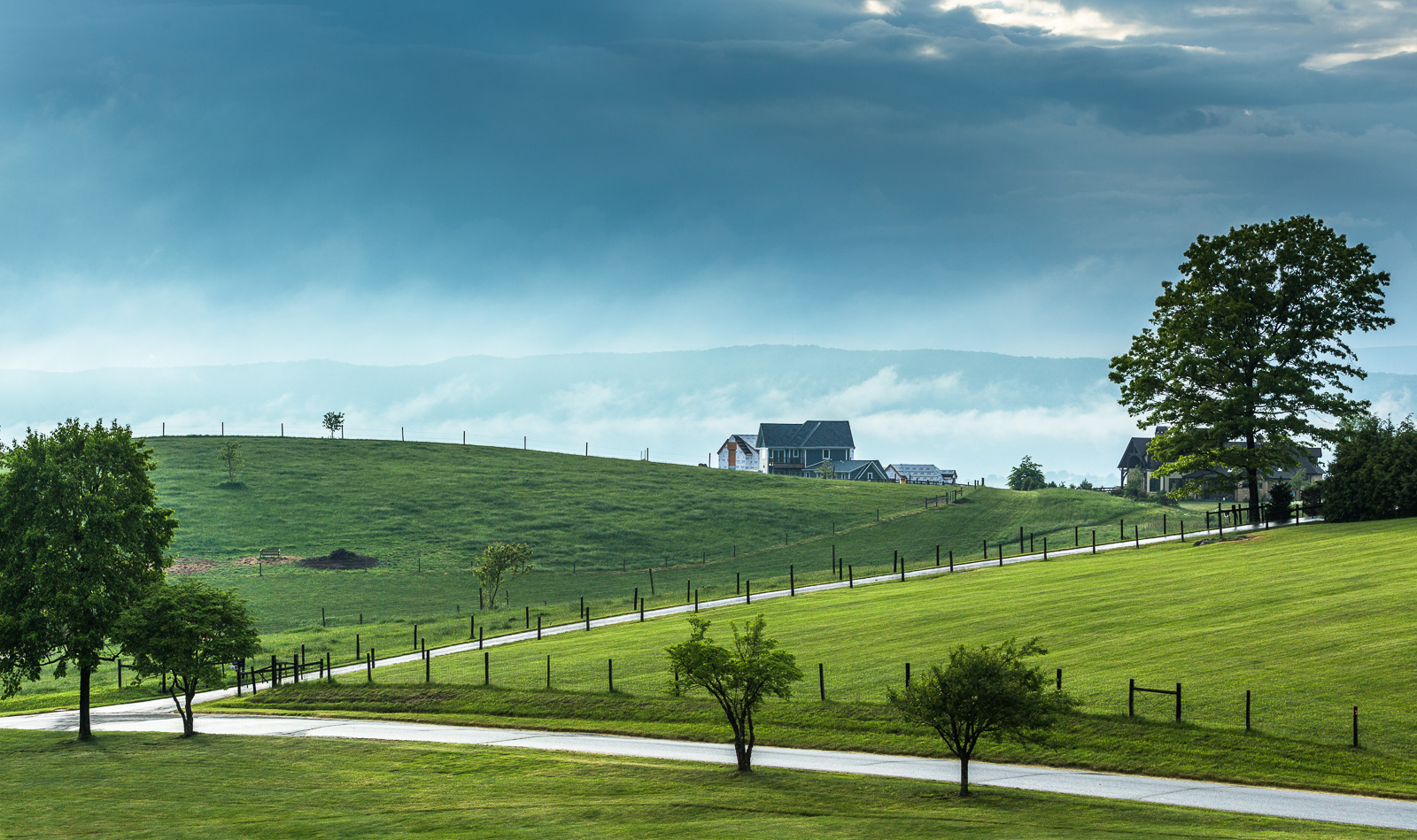 _C8A4262-Pano - Richard Mallory Allnutt photo - Sunset - Blacksburg, VA -May 17, 2015.jpg