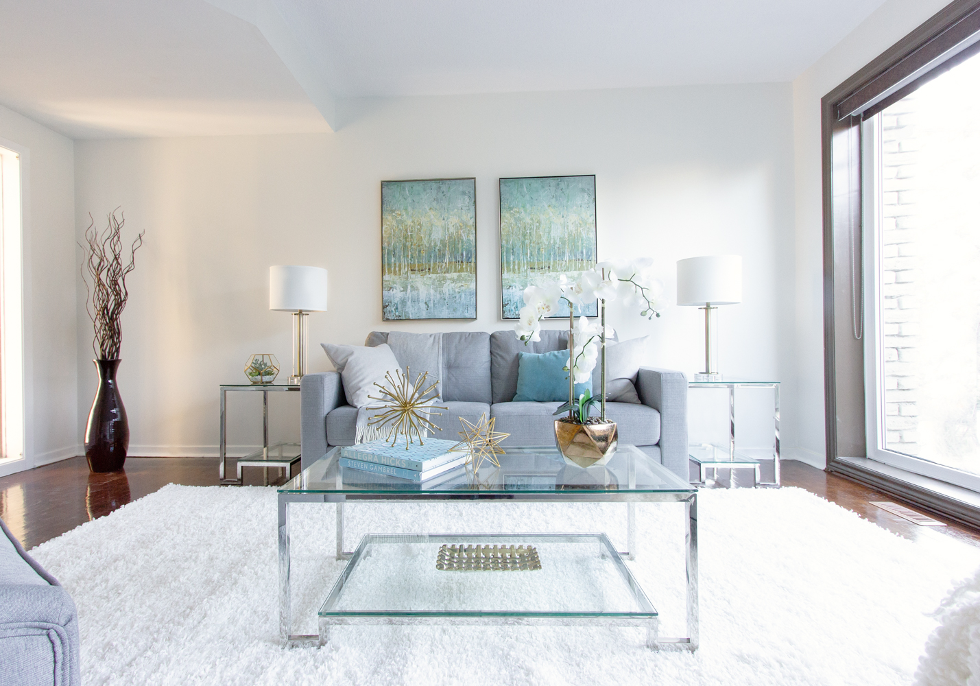 Living Room Home Staging