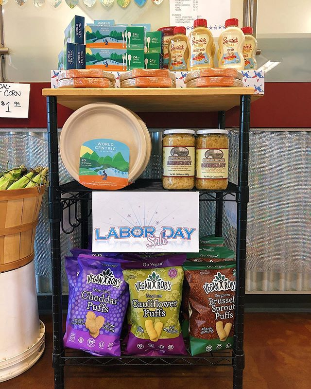 Come in and prepare for Labor Day celebrations with People's! We've got a bunch of must-have items for Labor Day celebrations on sale so come check em out!! 🇺🇸 A reminder that we will be closed on Labor Day. Happy holiday everyone!