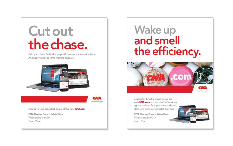 CNA.com launch ads