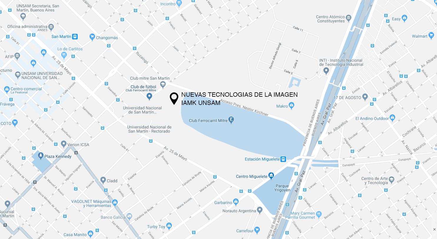 UNSAM - Área de Nuevas Tecnologías de la ImagenSABADOS10 a 14hs -
