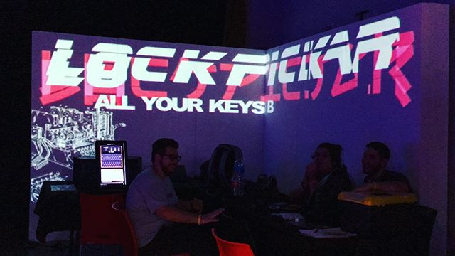 @lockpickar stand at @ekoparty 2019! . Ekoparty is an information security and technology conference, held once a year, in Buenos Aires/Argentina were we participate with physical security, biometric and logic challenges for the community, to spread the word and learn about the importance of security in those areas. . More to come! Happy to be part of this :) . #ekopartysecurityconference #lockpickar #security #hack #lockpicking #2600 #movefastandbreakthings #allyourkeysbelongtous #hacking #argentina #defcon #informatics #informationsecurity
