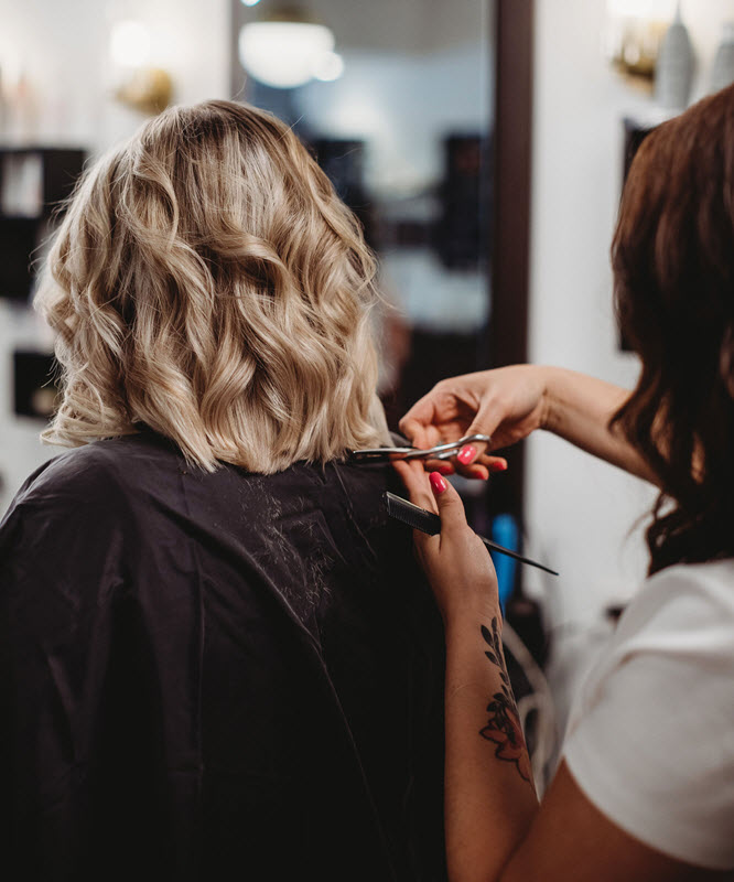 Haircut & Style - Haircut starting $48Men's starting $33Children under 11 starting $27Tots under 3 $20Blowdry starting $32Blowdry & Thermal styling starting $47Special occasion style starting $57Bridal Updo starting $67Bridal Trial Run starting $67*Bang Trims are always complimentary