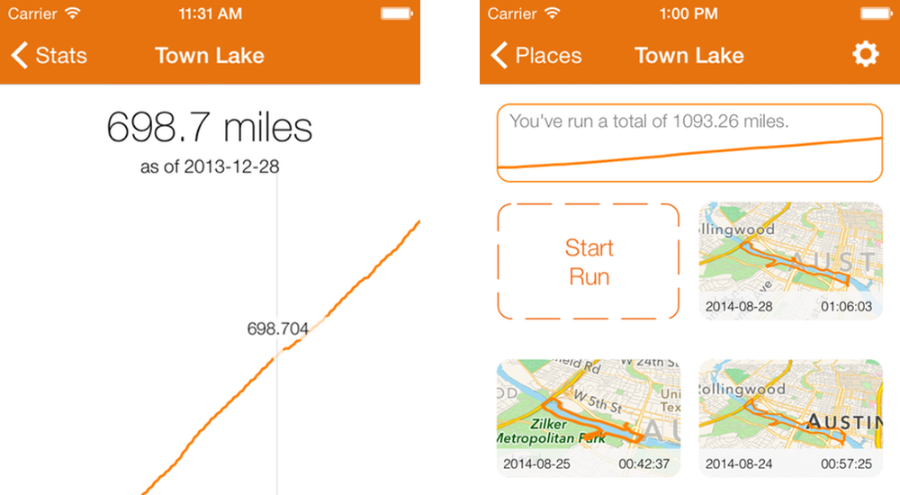 Tracking your fitness goals with Runtime