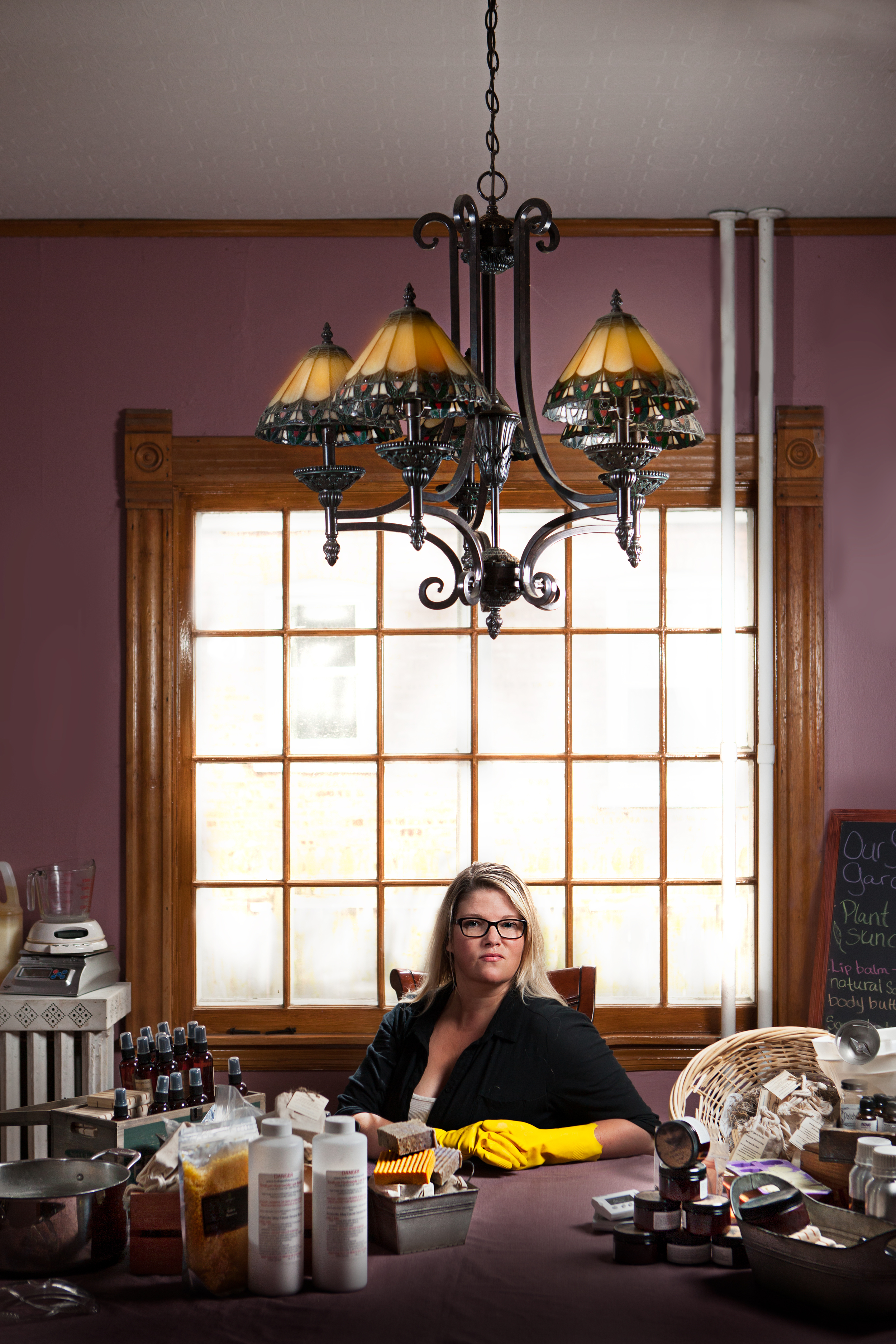 Artist Environmental Portrait | Commercial Photography Chicago