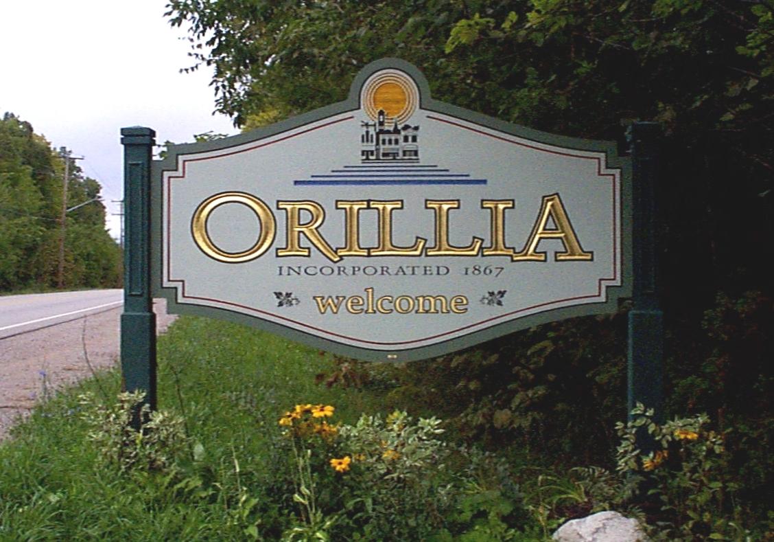 Orillia Gateway Sign