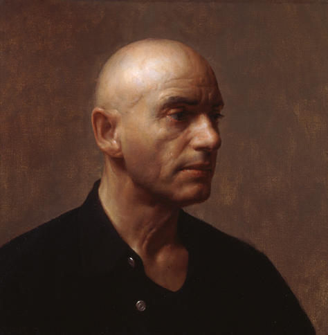 Gerard, Oil on Linen 16'' x 16'' inches, 2002