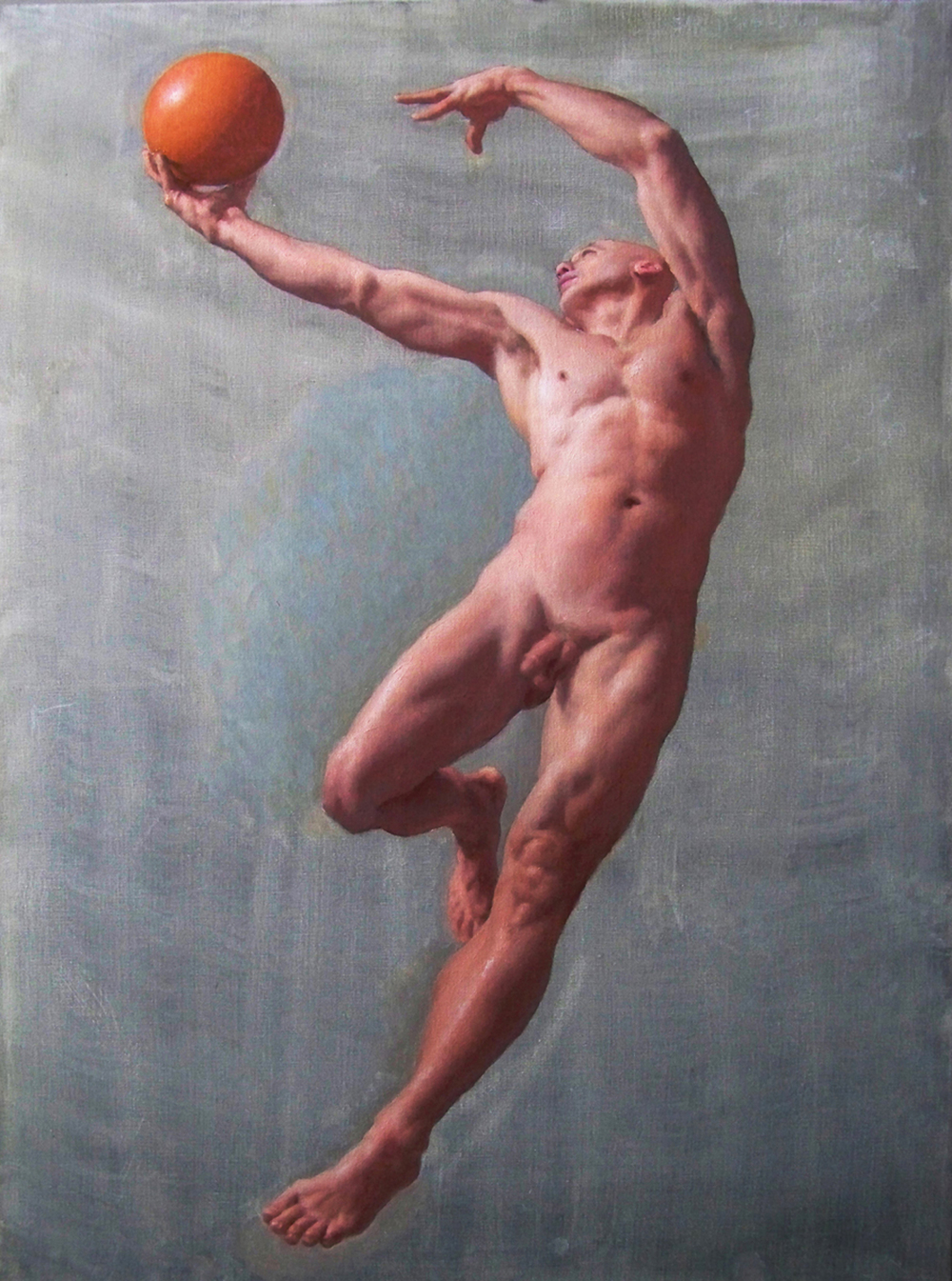 Soaring, 2012, oil on canvas, 36x24 inches
