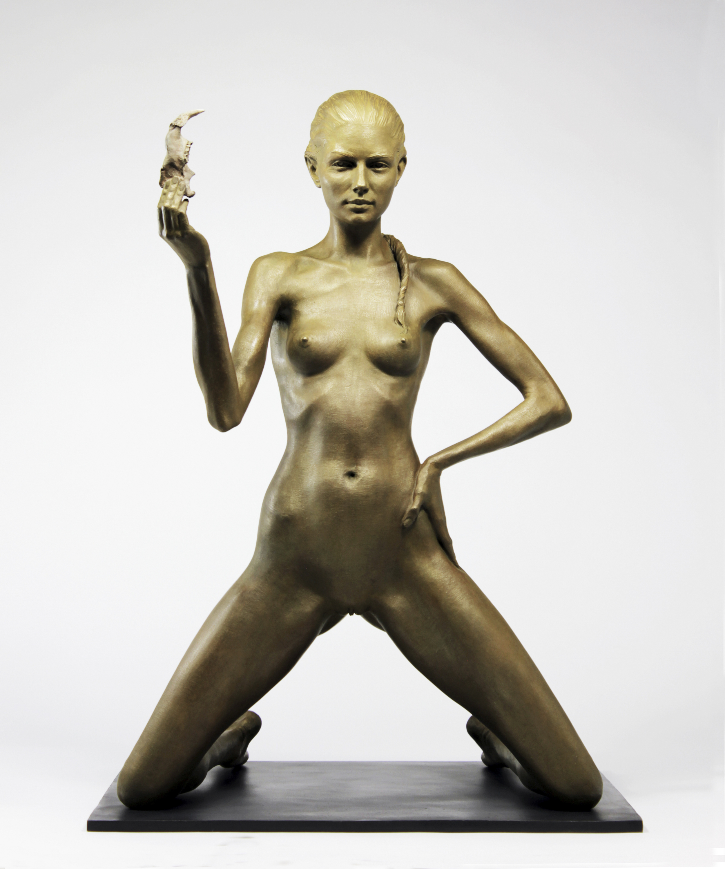 Carey, Bronze, 2015