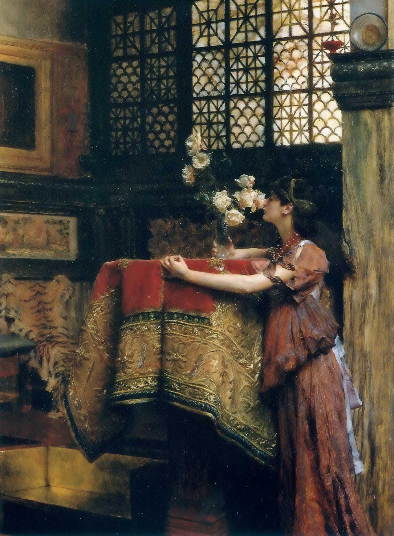 Lawrence Alma-Tadema : In My Studio