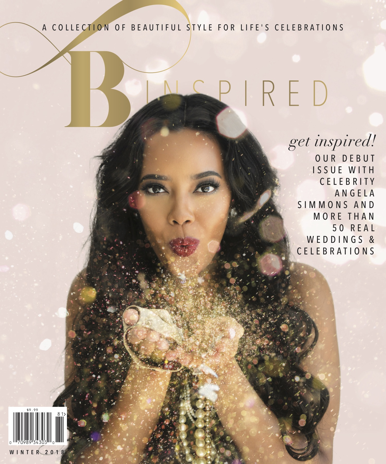 Featured - We have two features in this luxurious magazine. Cover featuring @angelasimmons shot by @inijephoto. @binspiredthemag can be found in local stores near you!