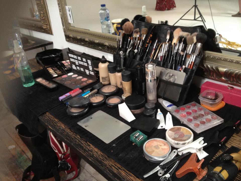 Makeup workstation