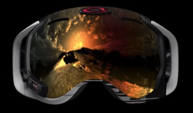 """Recently on the 25th February 2014, Oakley opened their """"Blast doors"""" at One Icon and celebrated the legacy of Oakley design and innovation. Oakley Airwave Snow goggles pictured above integrates Recon Instruments heads-up display technology."""