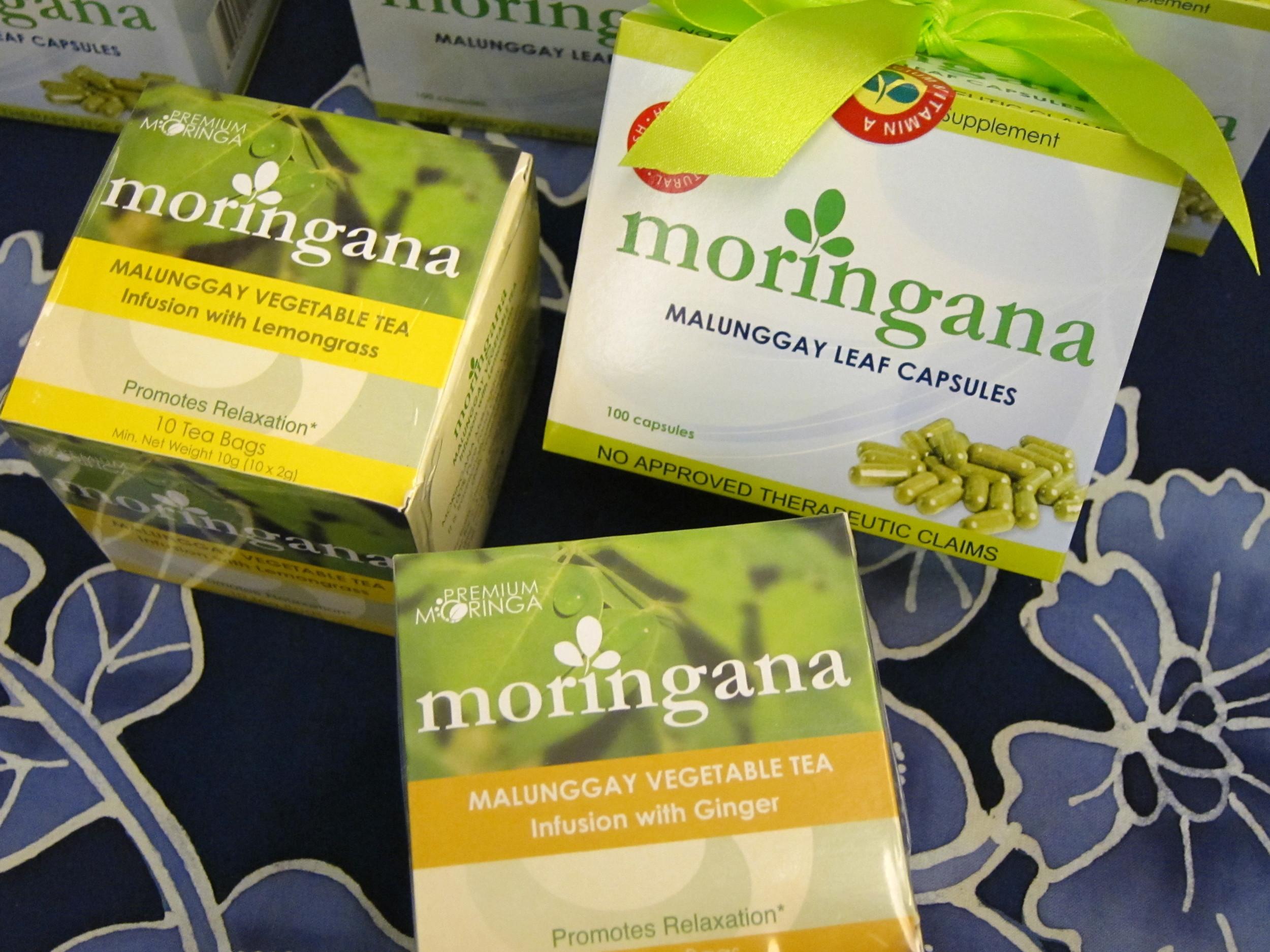 Moringana Tea & Capsules