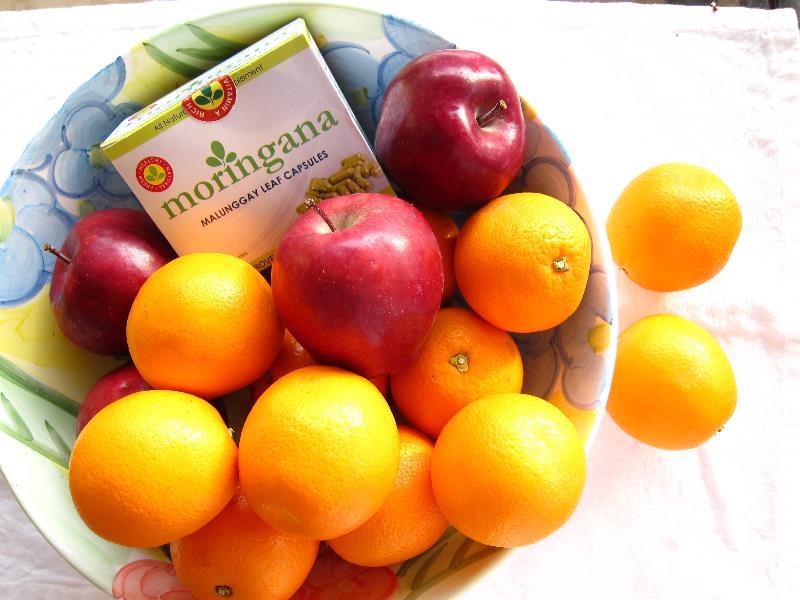 Apples, Oranges & Moringana