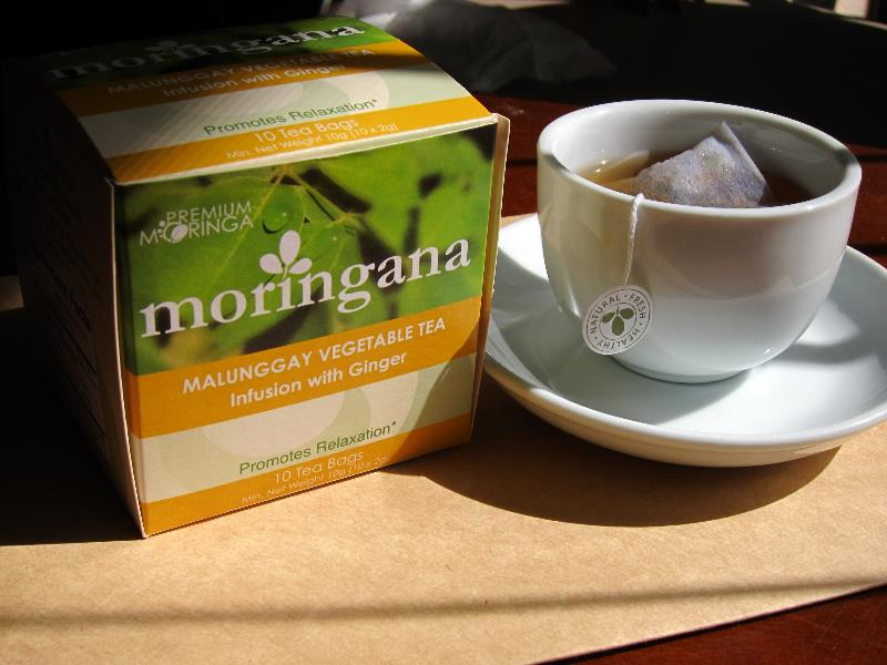 Ginger Moringa Tea