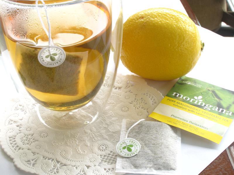 Lemongrass Moringa Tea