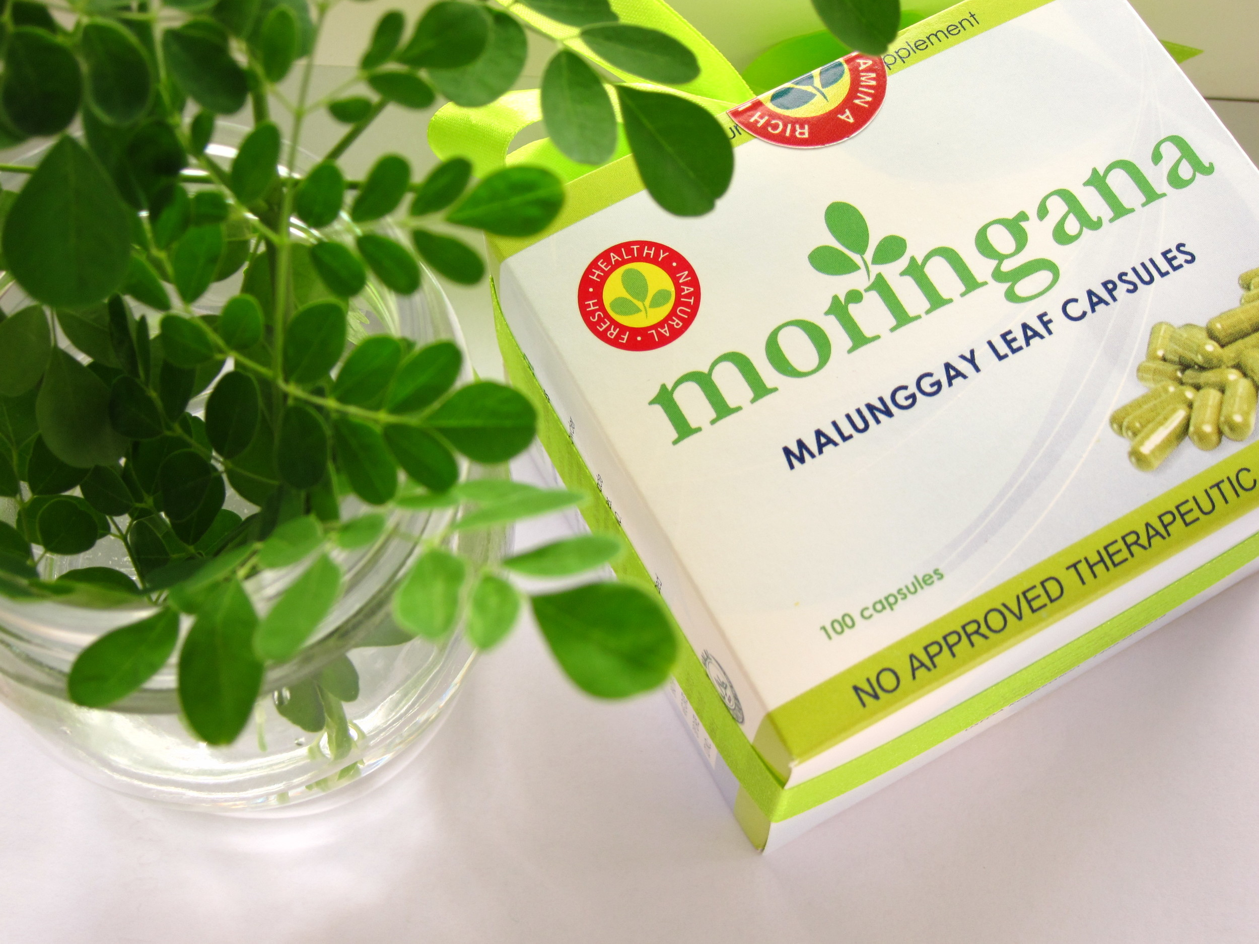 Moringana Box with Leaves