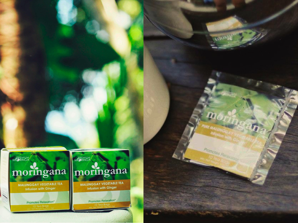 MORINGANA Malunggay Ginger Tea