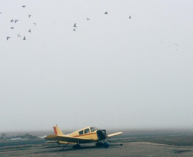 A foggy morning in Lodi, CA (K1O3)