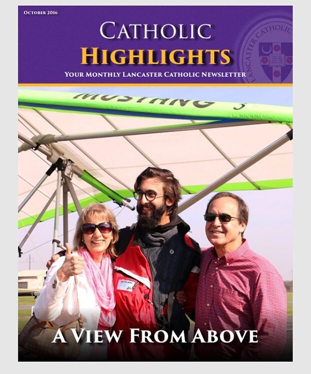 Thanks for the great article, @lcatholic ! Was great to have such a warm welcome in #Lancaster, the penultimate stop on the Tilt Shift voyage. Link in bio! . . #documentary #film #movie #adventure #aviation #pilot #piloteyes #love #family #aviationdaily #latergram #weightshift #trike #ultralight #microlight #flight #record