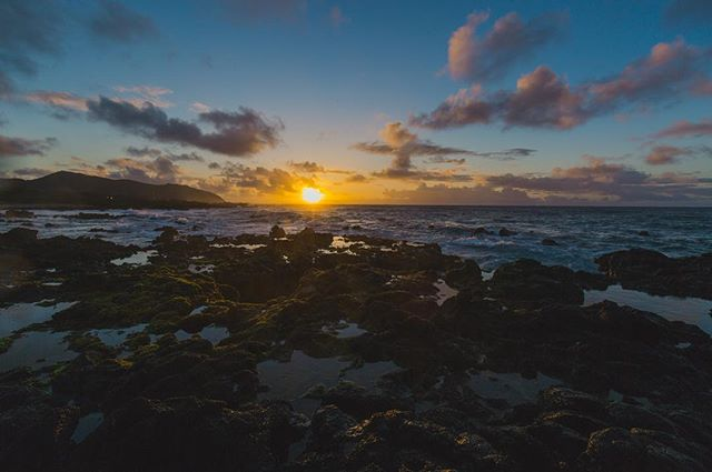 "2/3 - ""Rocks, Water, and Clouds"" - Oahu, Hawaii, 2016"