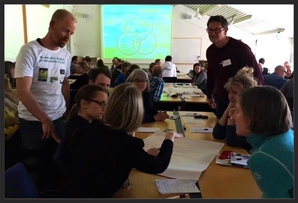 """Naturkartan höll i Tankesmedjans populäraste workshops: """"Hur kan friluftslivet framställas som mer attraktivt - med ny teknik?"""""""