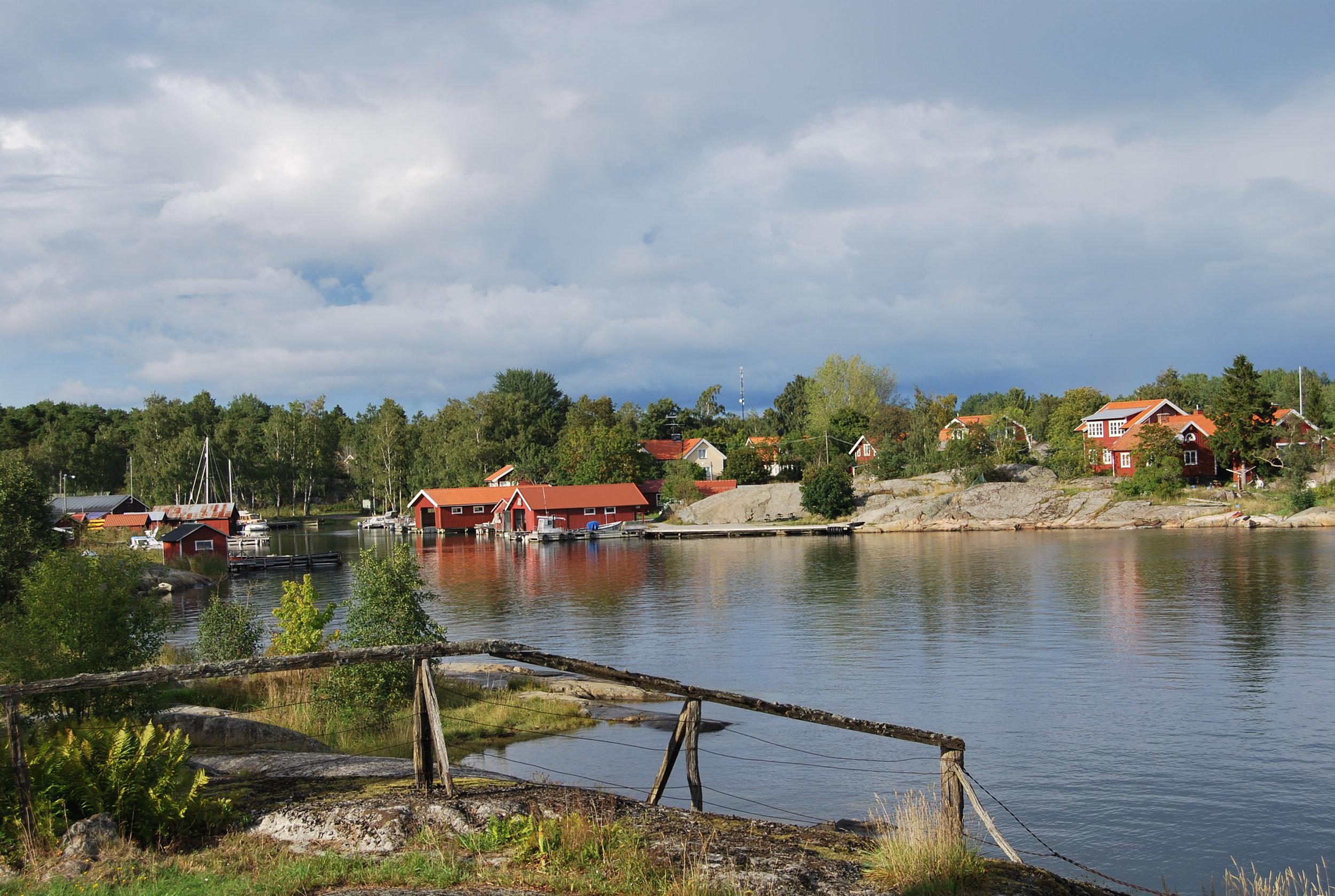 Bergs by en kulturmiljö på Möja, Värmdö