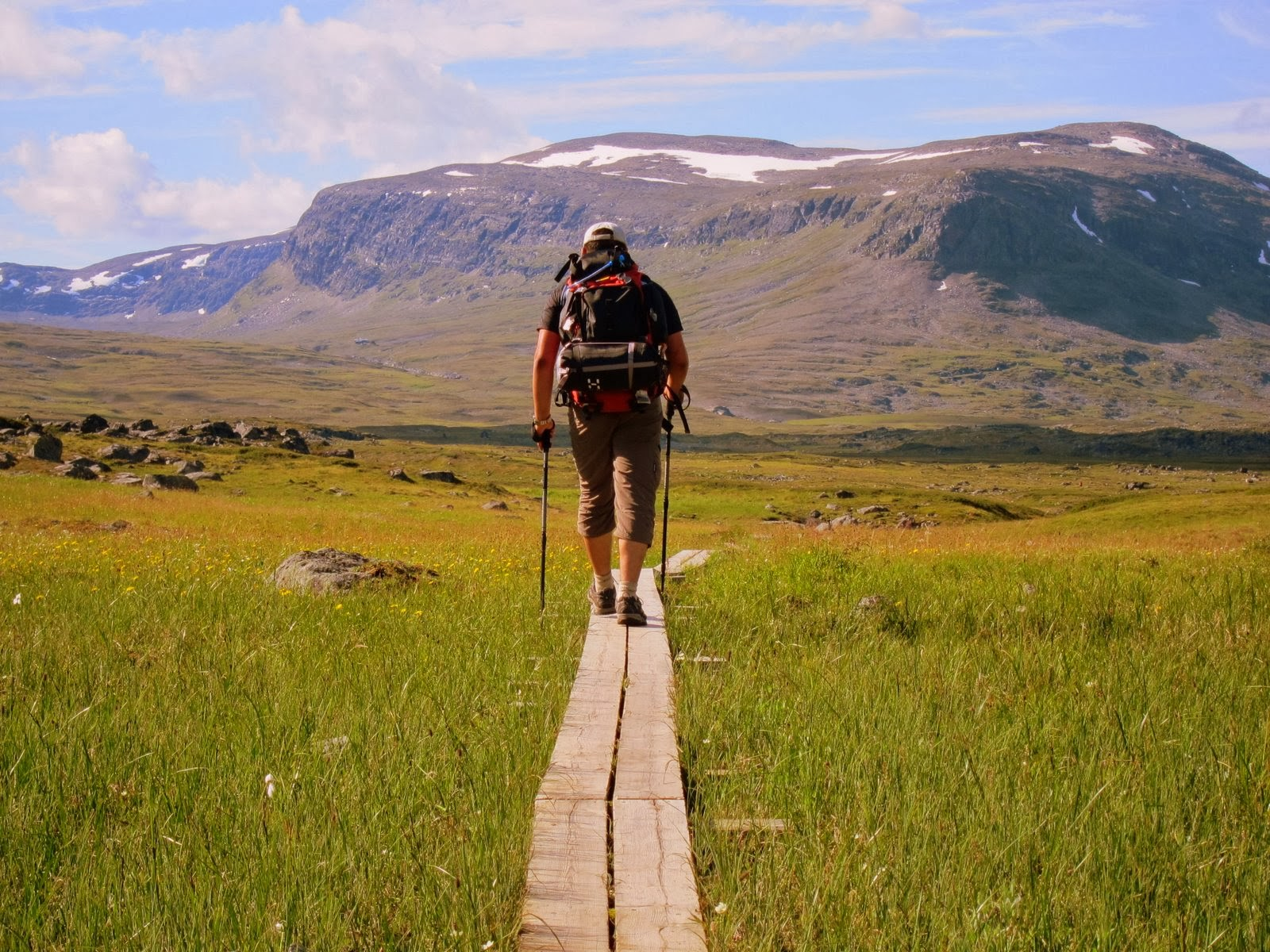 Norrbottens ca 225 mil statliga fjälleder snart tillgängliga på Naturkartan Foto: WikiMedia