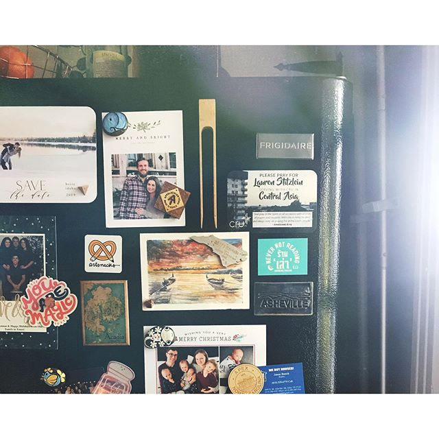 This will be my fourth summer in Tennessee. Glad the sun is staying up with me thinking about all the good memories and all the rough stuff too. Also I love the smiles on my fridge. 💕 #ohboy #time #summer