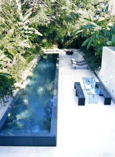 Lap Pools for small spaces