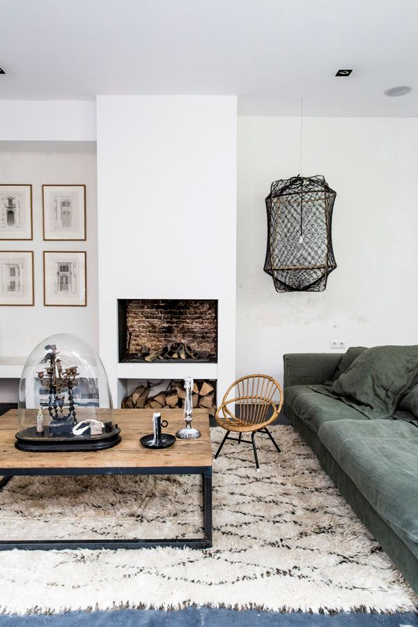 Jordaan, Amsterdam home of  Marius Haverkamp, a contractor and interior designer, and Emily Gray courtesy of the Style Files