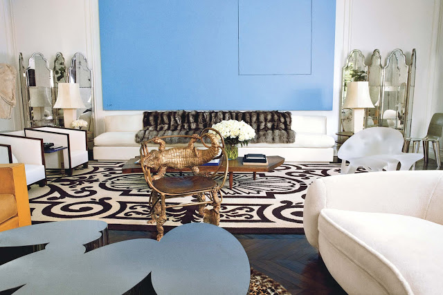 Reed and Delphine Krakoff NYC house