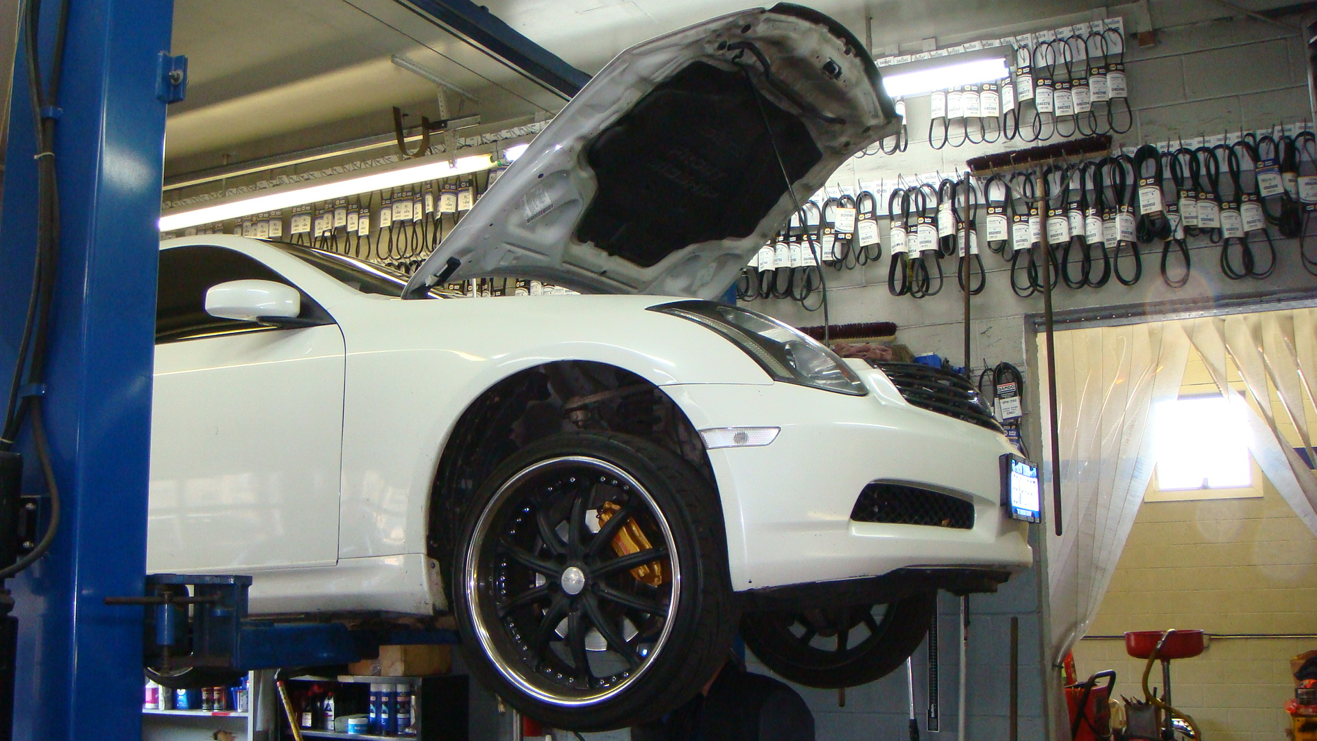 We Rotate Any Size Wheel FREE with Oil Change.