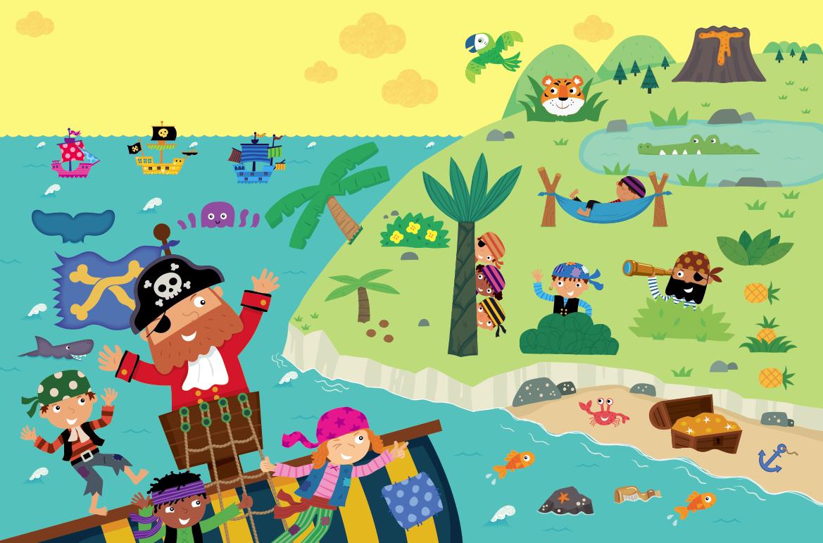 Pirates Illustration