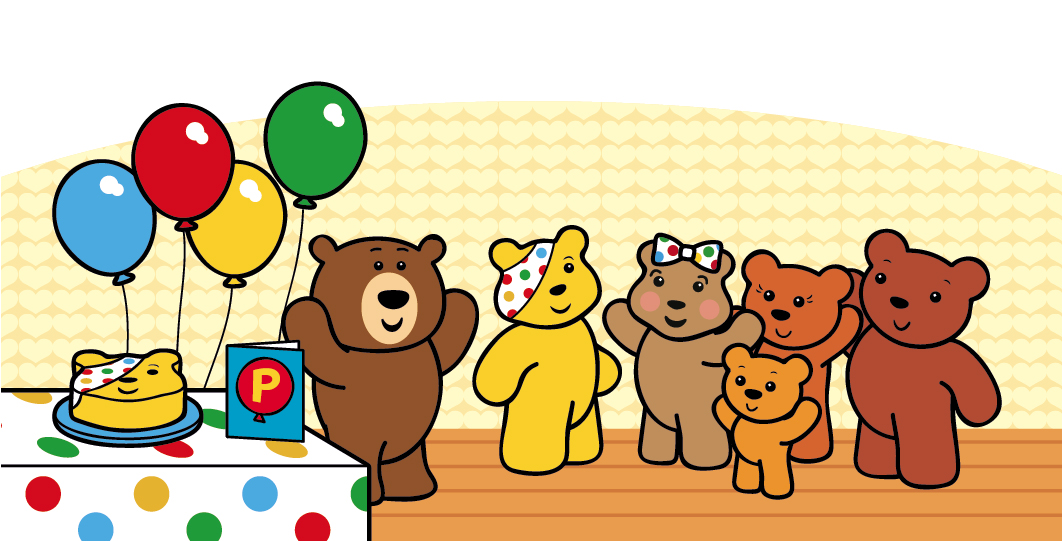 Pudsy Illustration, Children in Need