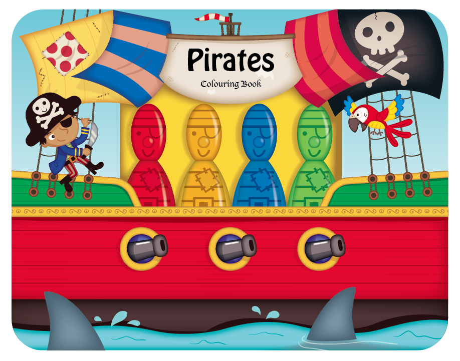 Pirate Crayons