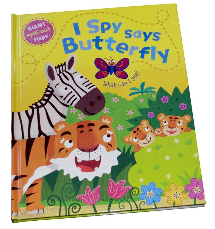I Spy says Butterfly