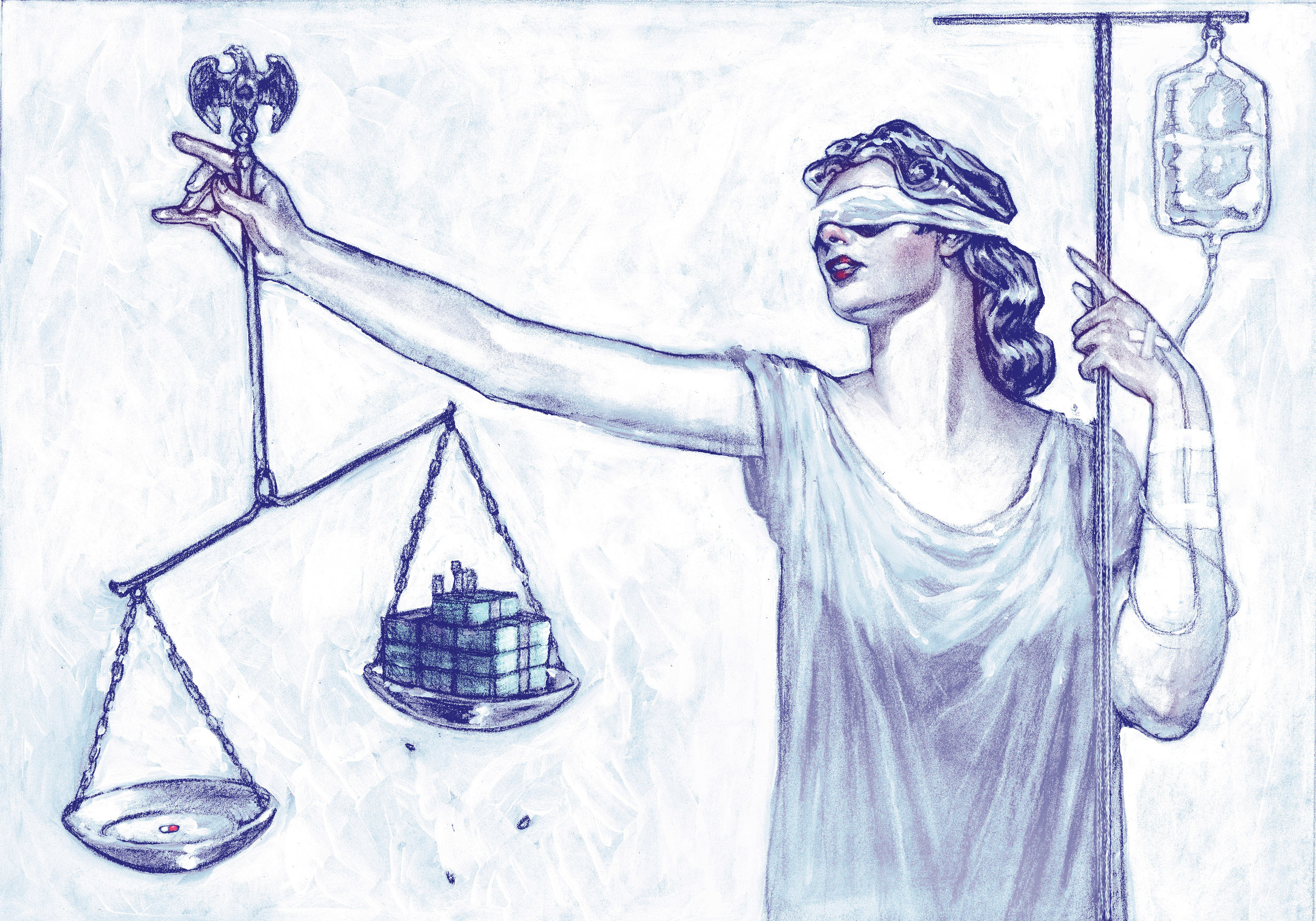 Blind Lady Justice
