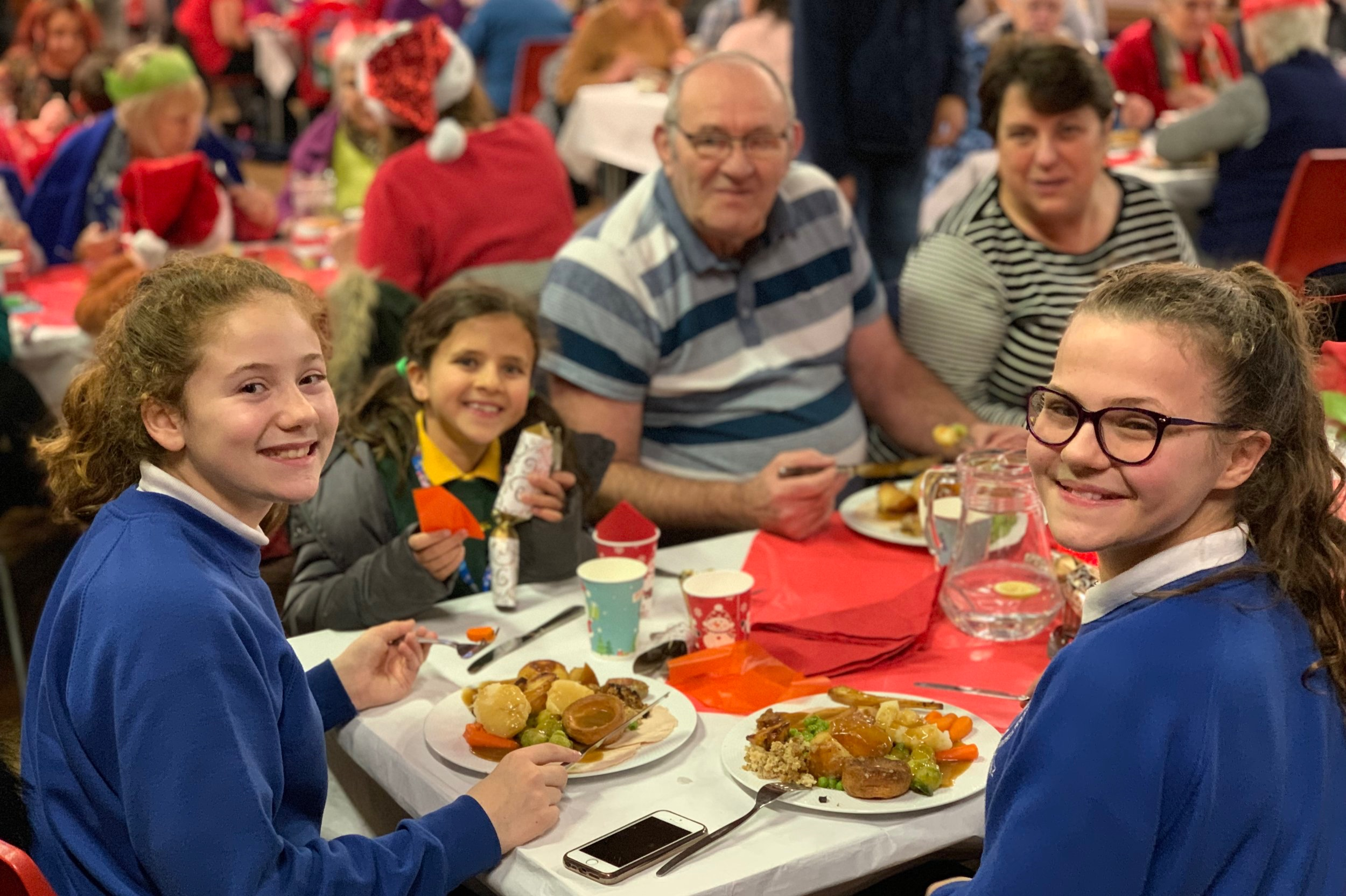 Food with Friends - Food with Friends is a free community meal. It aims to bring people of all ages, backgrounds and abilities together for a meal, so that people who might otherwise never have met, have the opportunity to get to know one another.