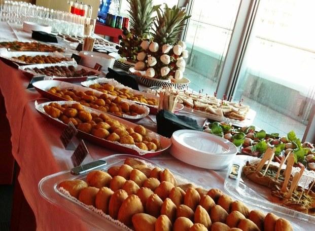 #Buffet con finger food