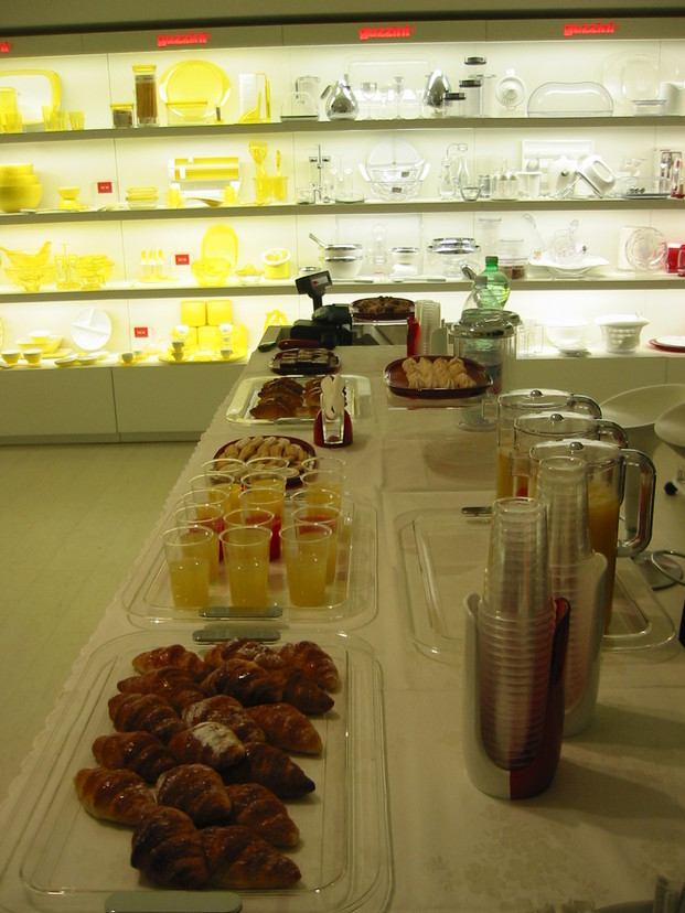 #buffetcatering in shop opeing