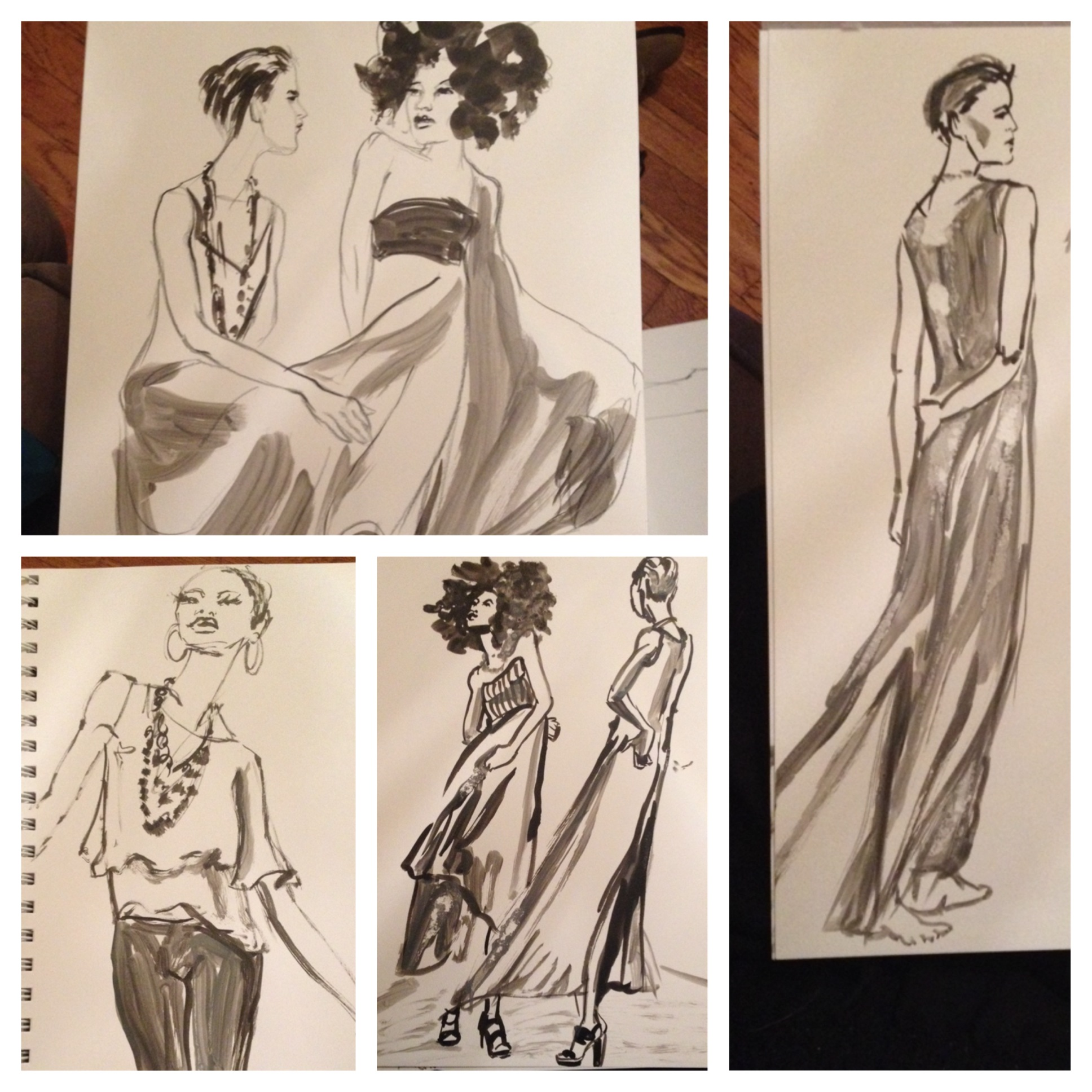 Fashion Sketch night