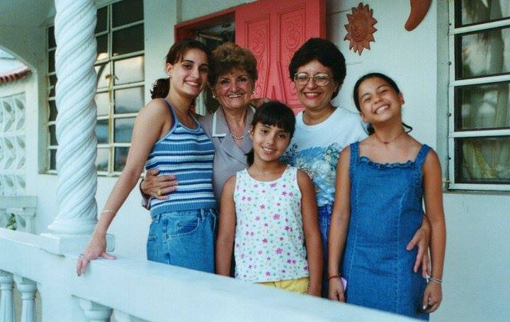 Throwback photo from 1998 in Puerto Rico at our Grandma's house. Hopefully sometime soon we can all be there again together to memorialize her as a family.