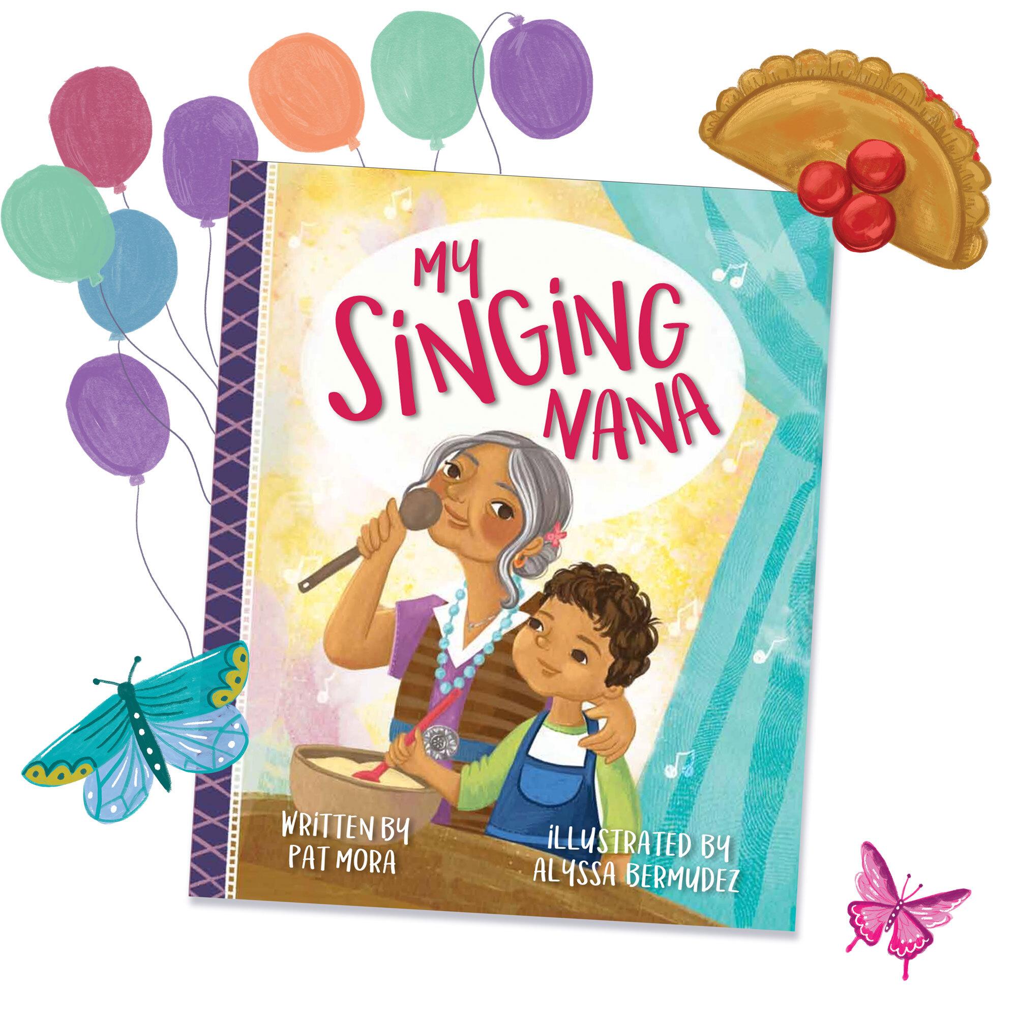 My Singing Nana Book