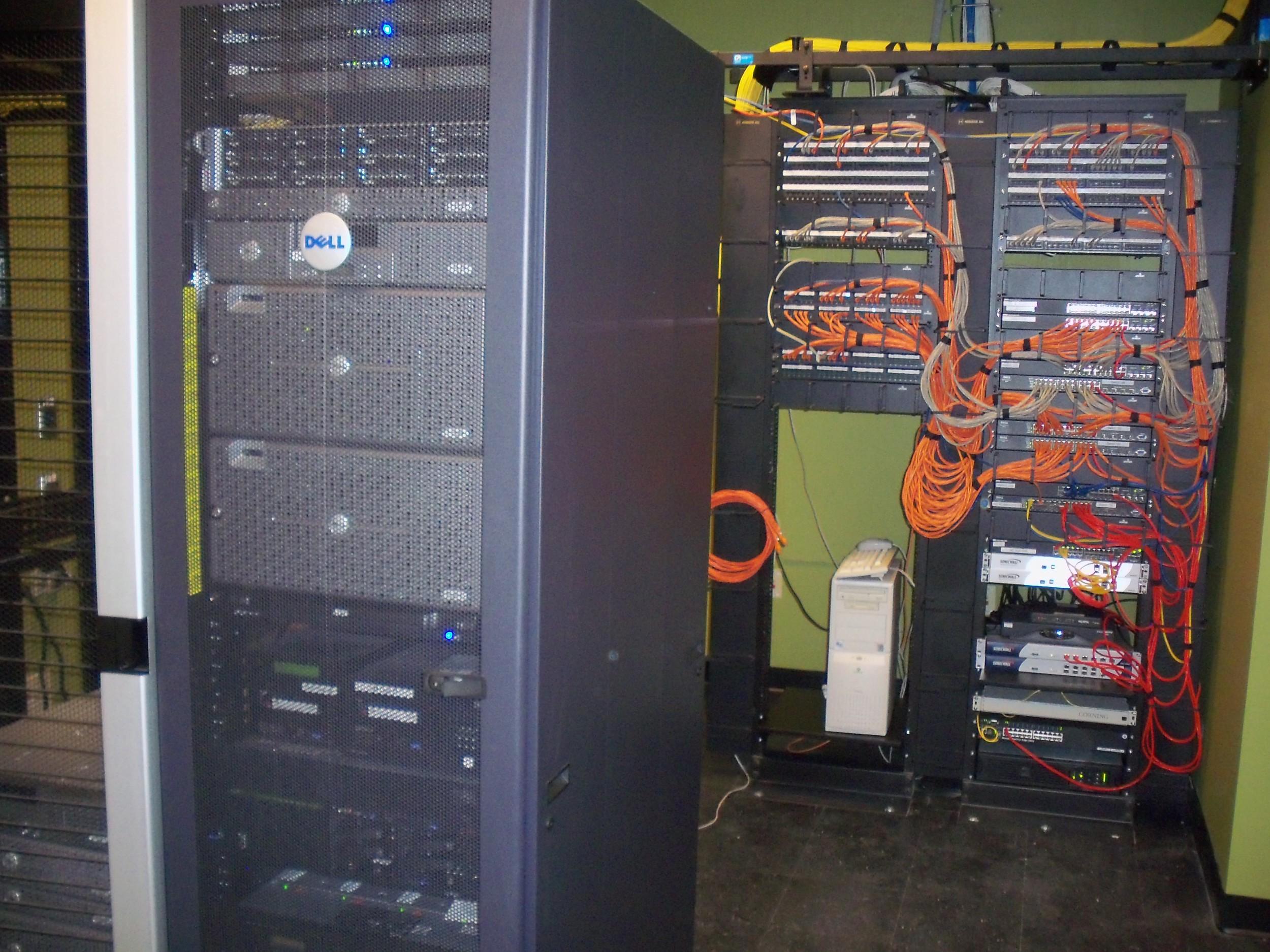 new data racks, Advocate