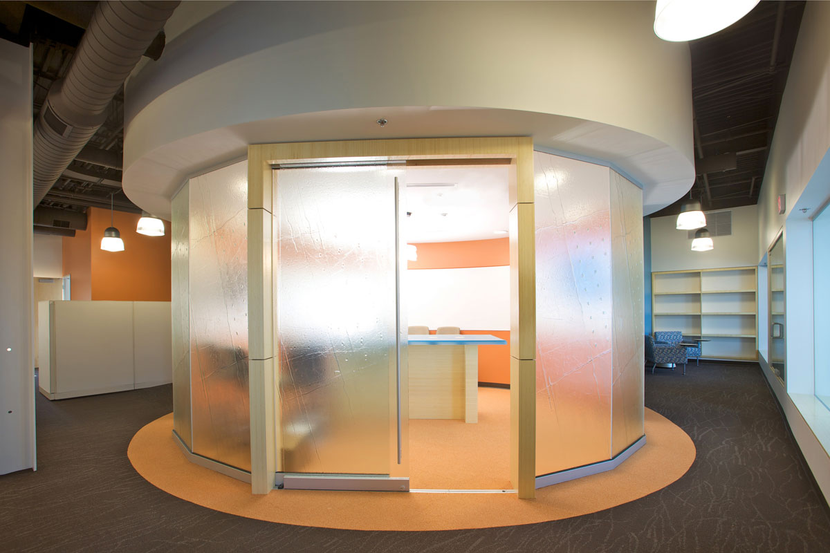 "the ""egg"" cubicle"