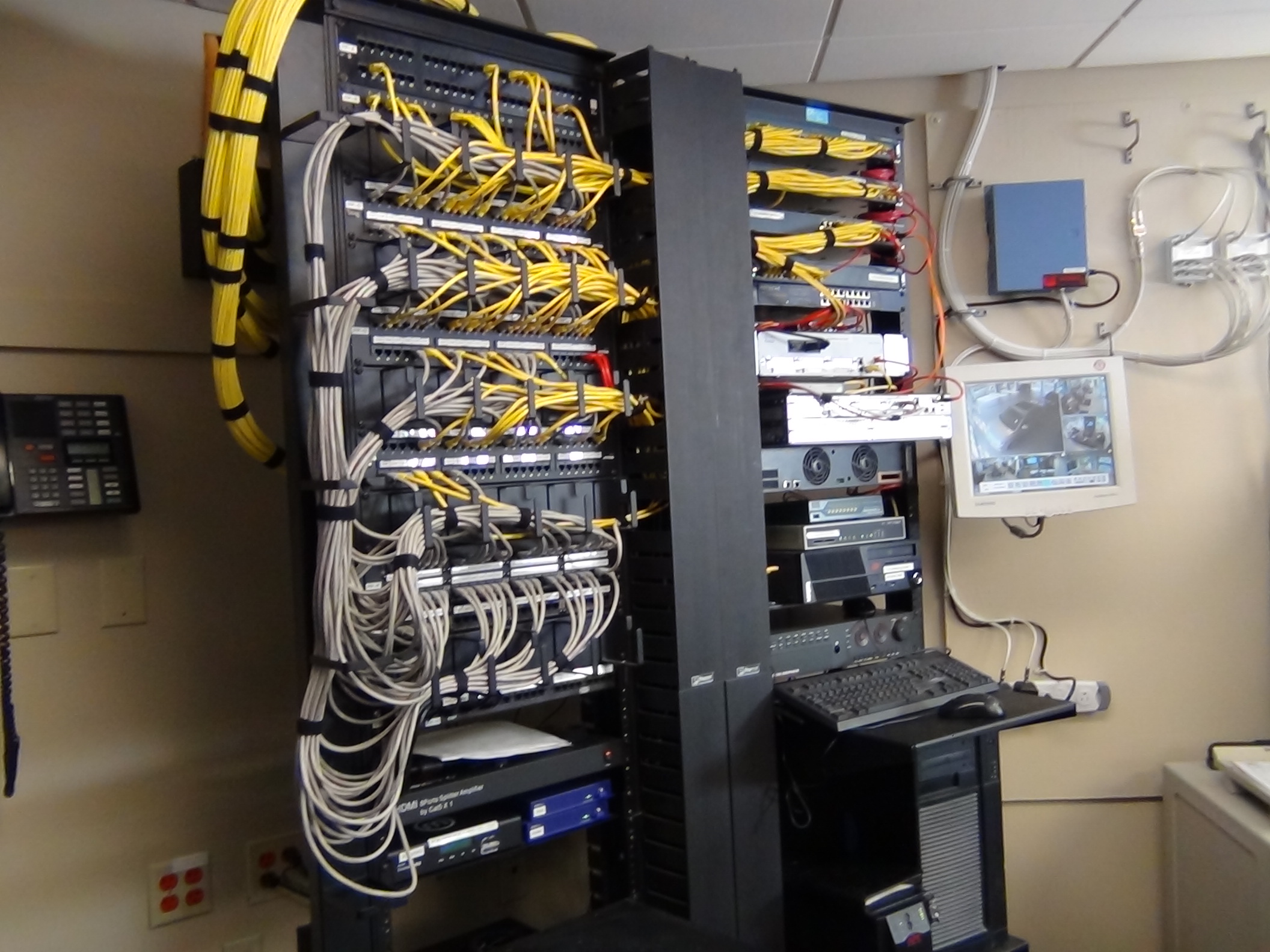 data racks, Dan Tobin